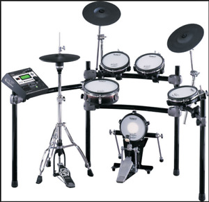 """Electric Kit Roland TD12 Kit with added 12"""" Roland PD-125 snare"""