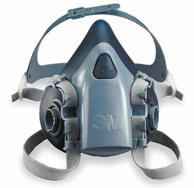 3m 7500 Series Half-mask Respirator Large Facemask Painting Gas Mask Respirator