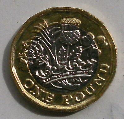 England 1 Pfund 2016 Bimetallmünze    gebraucht kaufen  Kassel