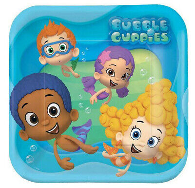 BUBBLE GUPPIES birthday party lunch dinner PAPER PLATES supplies 8pc 9