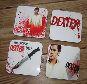 Dexter Morgan Drinks Michael C Hall Coaster Set #2