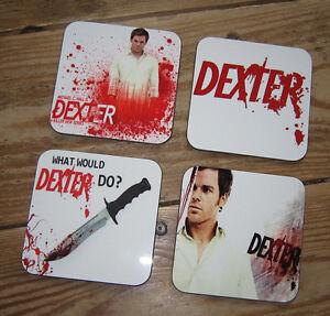 Dexter Morgan Drinks Michael C Hall Coaster Set #2