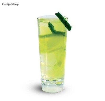 2oz. CORDIAL SHOT GLASSES 200ct. MINIATURE DESSERT BARWARE CLEAR CLASSIS SHAPE - Plastic Cordial Glasses