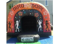 Bouncy castle hire, Disco dome hire, Mascot Hire, Candy Cart hire, & Party hire from £25