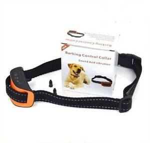 Dog Collar Anti-Bark Sound Vibration Training Pet Barking Puppy Brunswick Moreland Area Preview