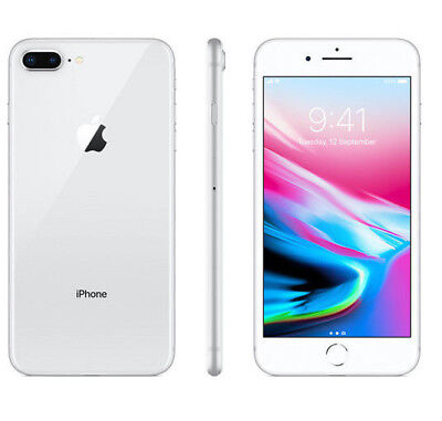 "APPLE IPHONE 8 PLUS 64GB SILVER GRIGIO 64 GB 5,5 "" NUOVO GARANZIA ITALIA 64 GB"