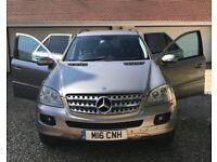 Mercedes Benz ML320 (3 litre turbo diesel)
