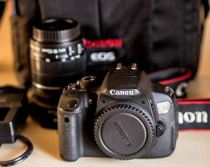 Canon T5I with 18 - 55 IS Lens