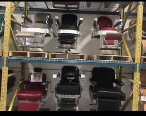 Various Antique Barber Chairs (50+ in stock)