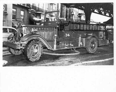 1931 American LaFrance Fire Truck Press Photo 0076 - Boston - Engine - Truck Press