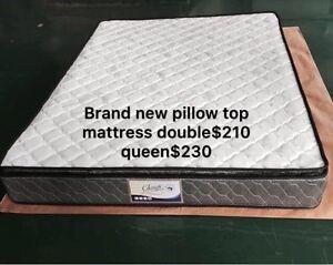 Brandnew pillow top mattress double$210, queen$230 St Kilda Port Phillip Preview