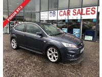 2008 08 FORD FOCUS 2.5 ST-3 3D 223 BHP **** GUARANTEED FINANCE **** PART EX WELCOME