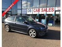 2007 07 FORD FOCUS 2.5 ST-3 3D 225 BHP***GUARANTEED FINANCE***PART EX WELCOME***