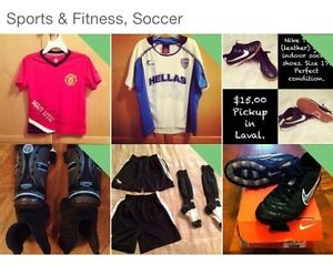Youth soccer gear