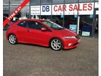 2010 10 HONDA CIVIC 2.0 I-VTEC TYPE-R GT 3D 198 BHP **** GUARANTEED FINANCE **** PART EX WELCOME