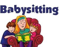 IN NEED OF A BABYSITTER?