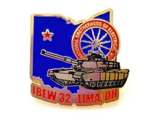 IBEW 32 Lima OH Emblem