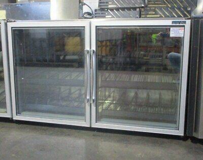 Silverking Skf48g 2 Door Undercounter Freezer Glass Door
