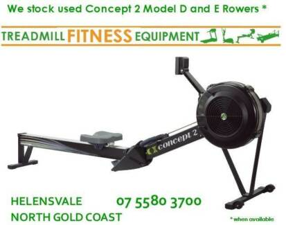 CONCEPT 2  MODEL D  ROWER | ROWING MACHINE 3 year old - FOR SALE Helensvale Gold Coast North Preview