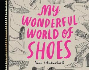 My Wonderful World of Shoes Colouring Book