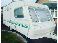 5 Berth Caravan - BARGAIN!!! (Power lead, gas bottle & fire extinguisher included)