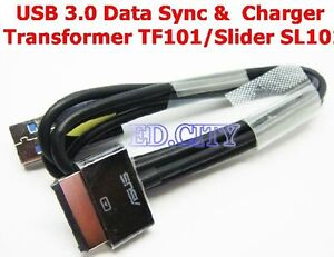 3FT USB 3.0 Charger Data Sync Cable Asus Eee Pad Transformer TF101/Slider SL101