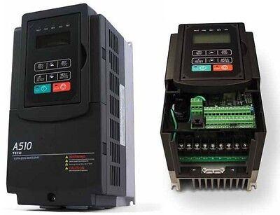 25 Hp 230v 3ph Input 230v 3ph Output Teco Variable Frequency Drive A510-2025-c3