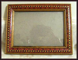 Vintage Small WOOD FRAME