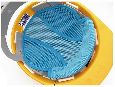 Hard Hat Sweat Band Cool Liner New Nara Jikimi Cooling - Light Blue
