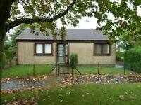 2 Bedroom detached bungalow, with large inclosed garden.