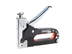 Heavy Duty Handheld Steel Staple Gun Tacker 1500 Staples Nail Upholstery Stapler Office Workplace