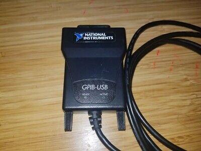 National Instruments Ni Gpib-usb Interface Adapter Gpib-usb-a 184983e-01