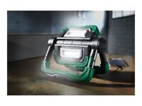 Ultra bright 1000 lumens LED work light with USB rechargeable power bank charger