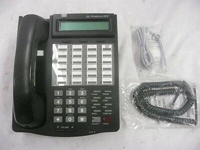 Vodavi Sts Phone 3515-71 Starplus Charcoal Black Renewed Warranty Refurbished