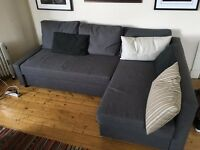 Like new IKEA Sofa Bed with extra storage