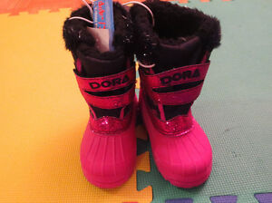 BRAND NEW WITH TAG: Dora Snow Boot for Toddler(Size : 8) Cambridge Kitchener Area image 2