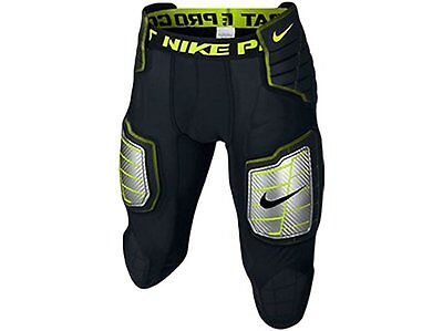 Nike Mens Pro Combat Hyperstrong 3/4 Hard Plate Football Shorts