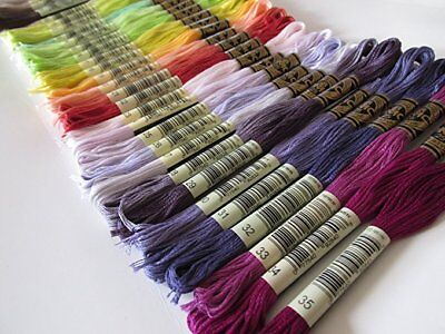 DMC-117 1 Skein PICK YOUR COLORS 01-35 NEW COLORS (#25 8.7 yds 100% Cotton)