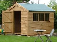 GARDEN SHED ASSEMBLY - Repair, Refelting, Shed Bases, Shed & Fence Painting - Outdoor Handyman