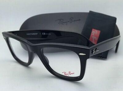 Iconic New RAY-BAN WAYFARER Eyeglasses RB 5121 2000 50-22 Classic Black (Iconic Glasses Frames)