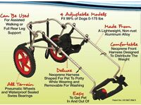 Dog wheelchair