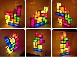 LED Tetris DIY Creative ConstructibleGame Style Stackable Lamp!! Kitchener / Waterloo Kitchener Area image 1