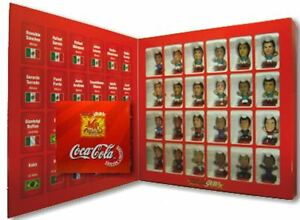 CORINTHIAN MICROSTARS COCA - COLA MEXICO SET OF 24 FIGURES  SEALED BOX ,8 SETS