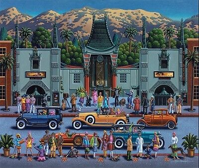 Dowdle Folk Hollywood 500pc Jigsaw Puzzle by Eric Toys