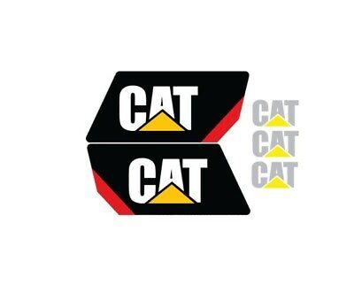 Cat Caterpillar Gc35k Forklift Reach Boom Decal Set Sticker Emblem Lk Gc K 35