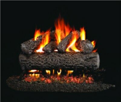 """Ventis Allegheny Oak Vented Gas Logs - 24"""" - Natural Gas for sale  Shipping to Canada"""
