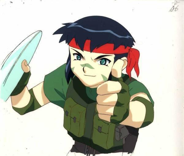 Anime Cel Tenchi #222