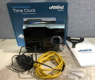Uattend Employee Management System Cloud-based Fingerprint Time Clock Bn6000sc