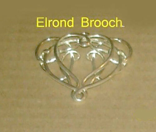 LOTR Lord of the Rings The Brooch of Elrond Sterling Silver .925