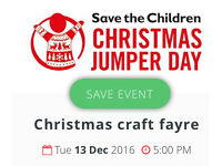 Christmas craft fayre stalls
